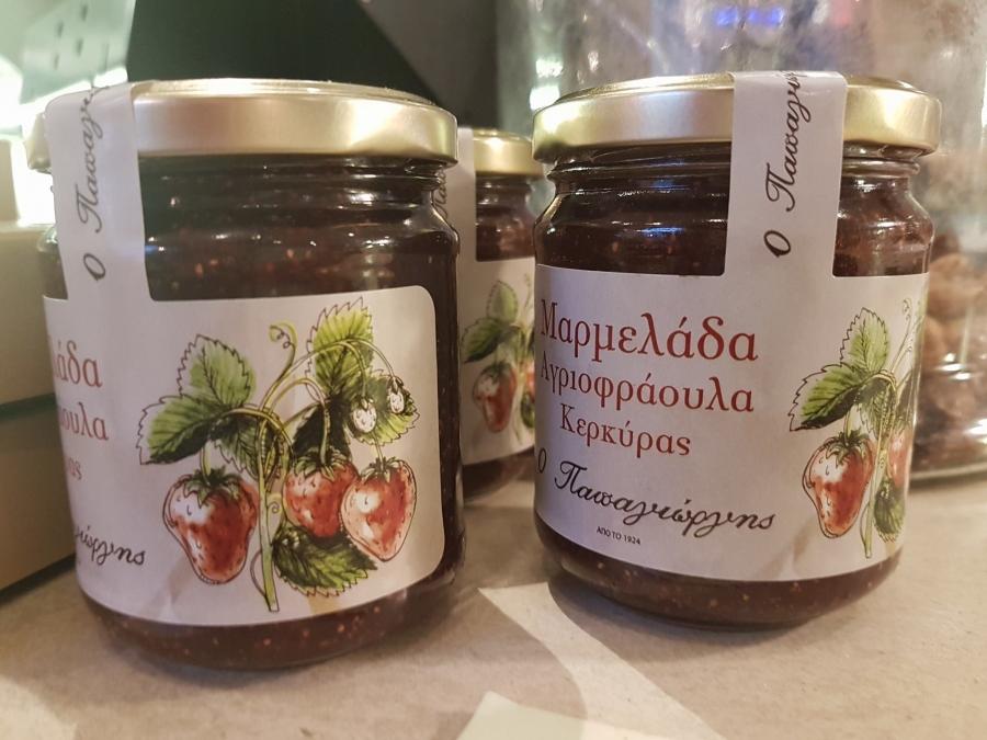 Wild strawberry jam